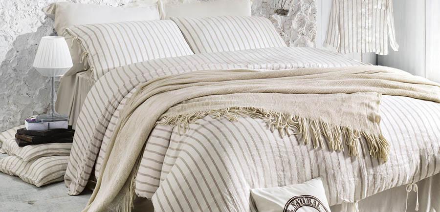 Элитное постельное бельё из льна
